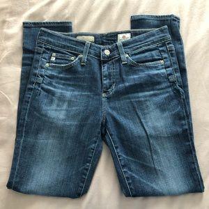 AG Beau slouchy skinny jeans